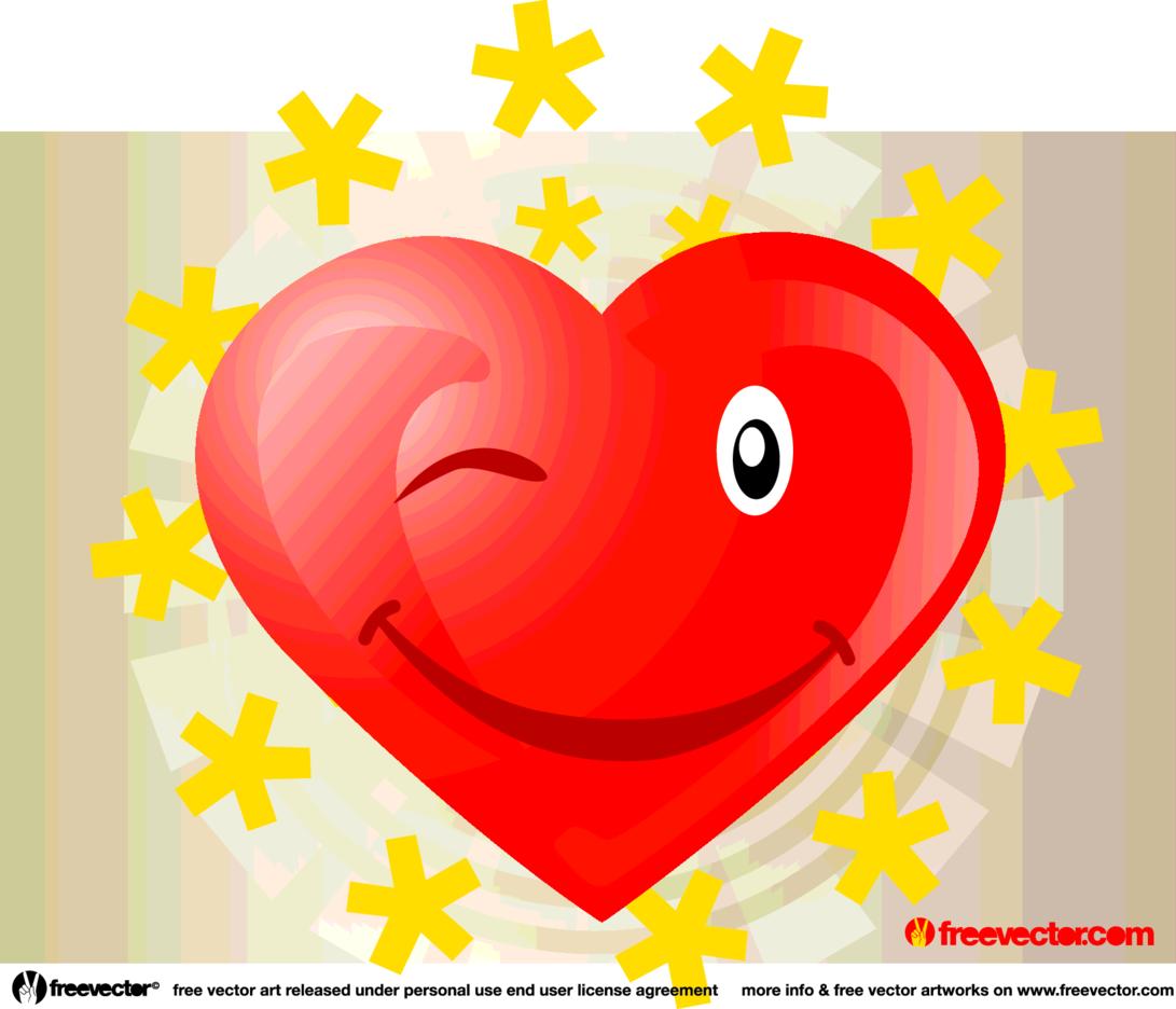 Heart Vector Cartoon