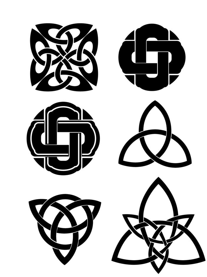 Celtic Knots Vector