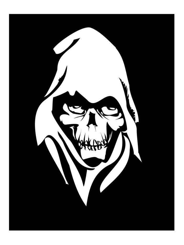 death face vector 2 freevectors death face vector 2 freevectors
