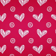Hand Sketched Heart Photoshop And Illustrator Pattern