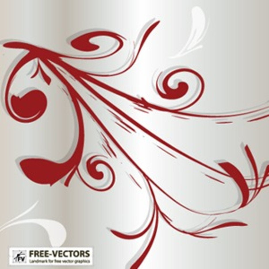 Free Ornaments Vector-1