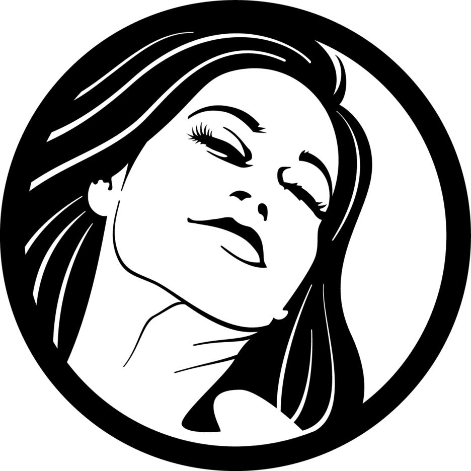 Girl Vector Clip Art 3