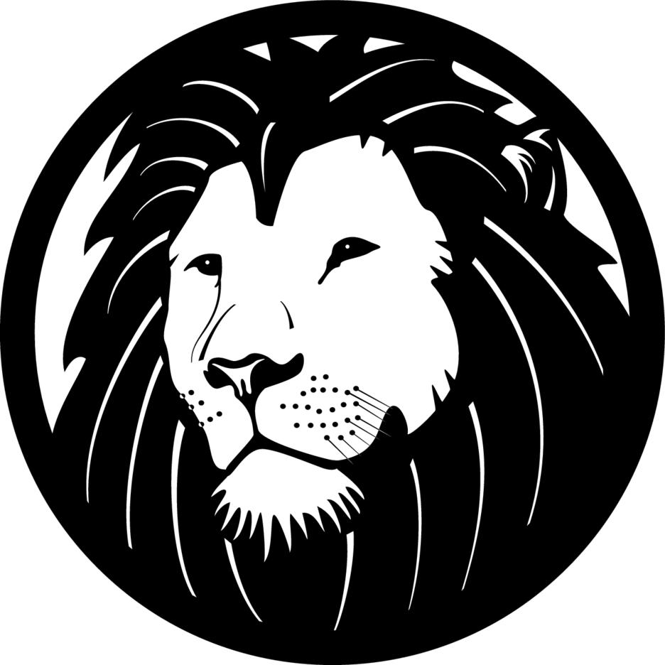 Lion Clip Art Vector