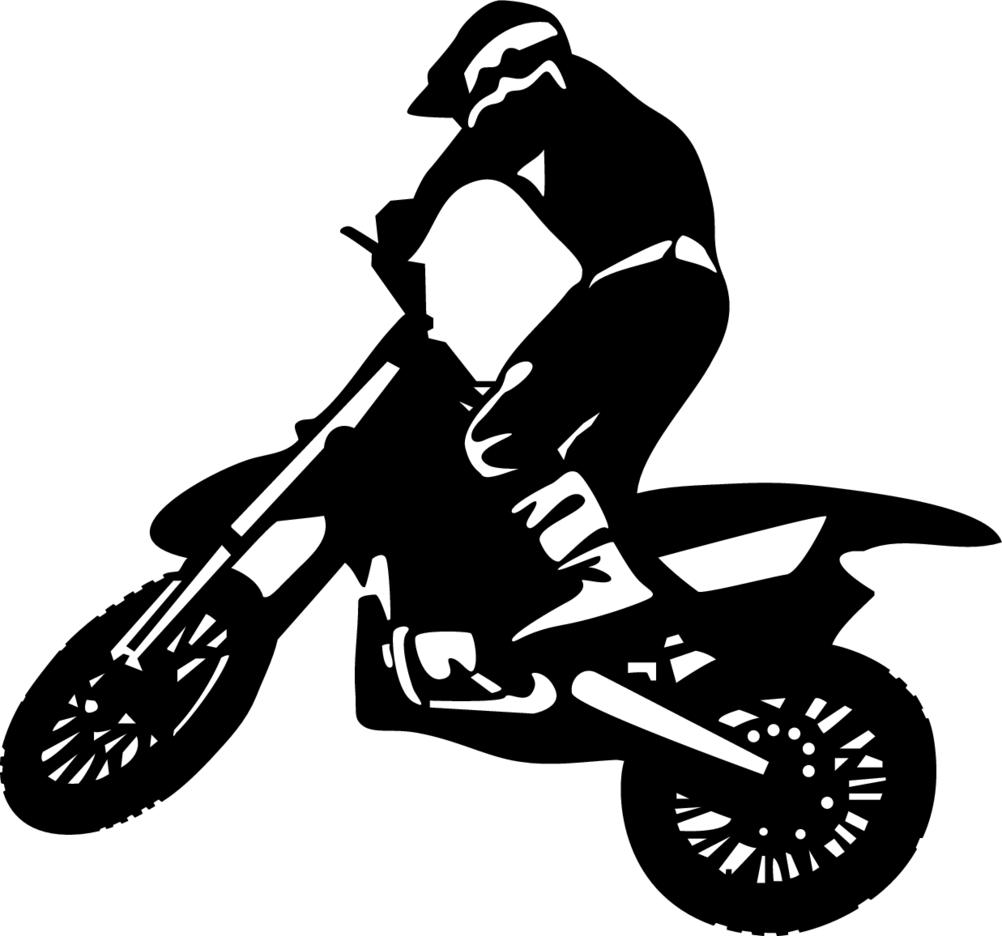 Biker Vector Image 2
