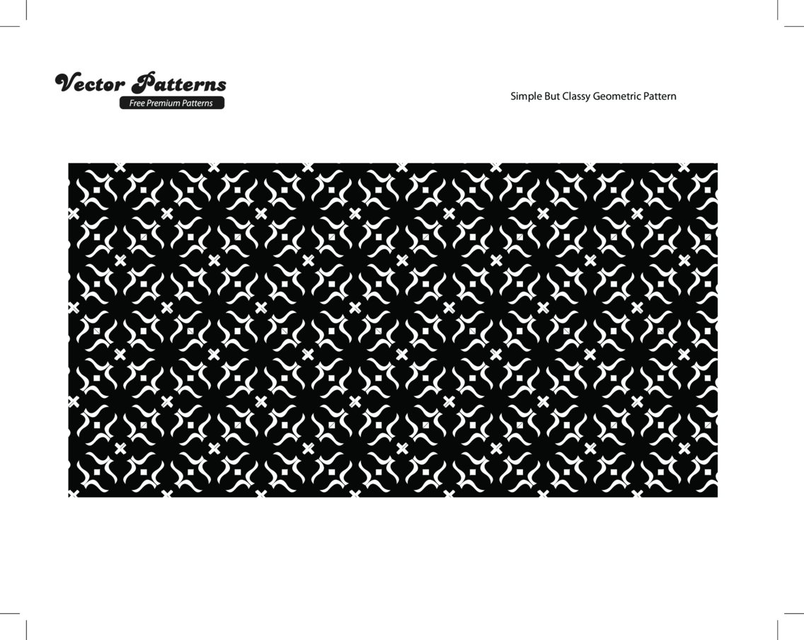 Simple But Classy Geometric Pattern
