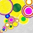 Abstract Colorful Composition