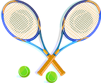 Tennis Racket Vector Clip Art