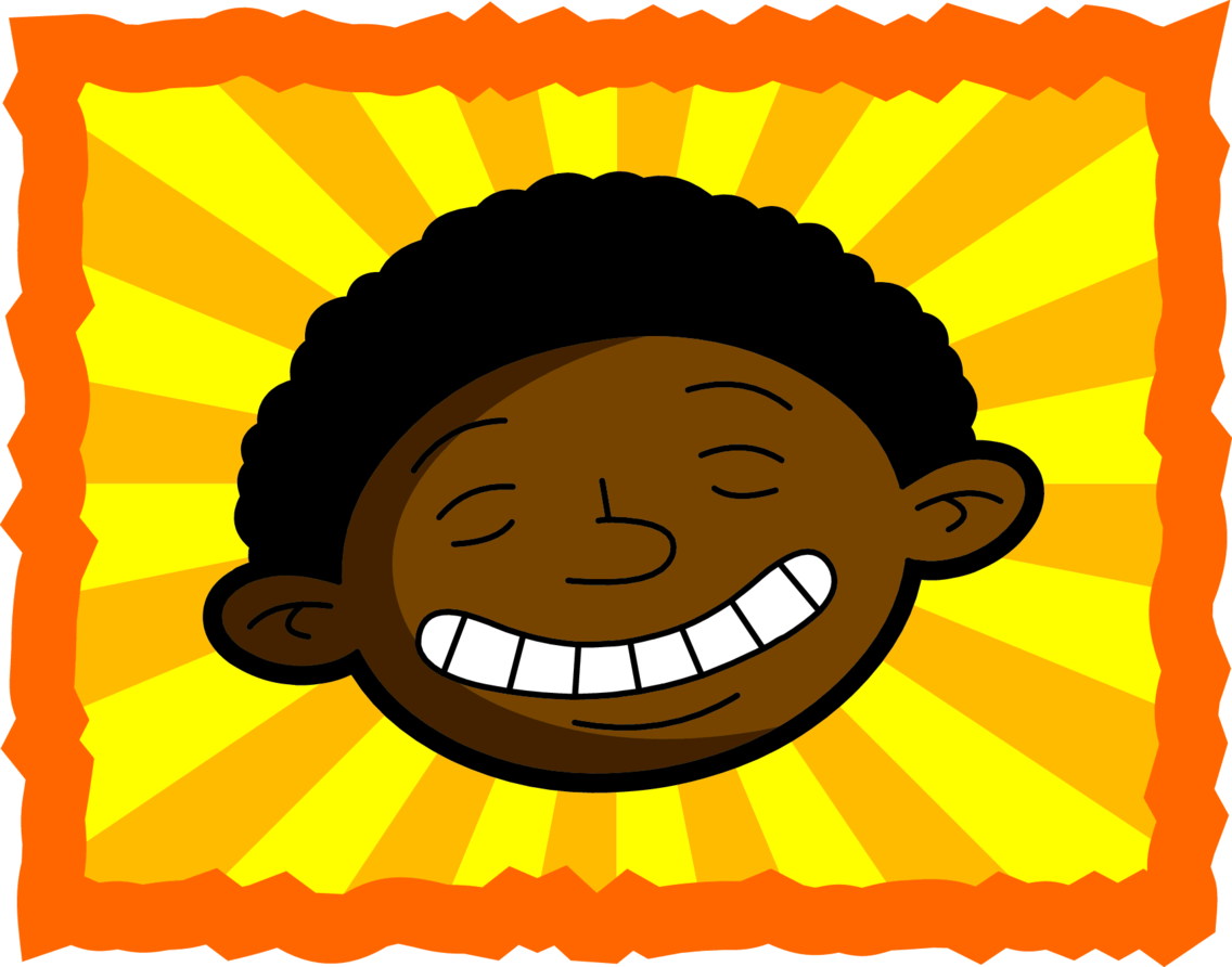 Happy Sunshine Black Kid
