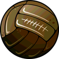 Old Soccer Ball Vector