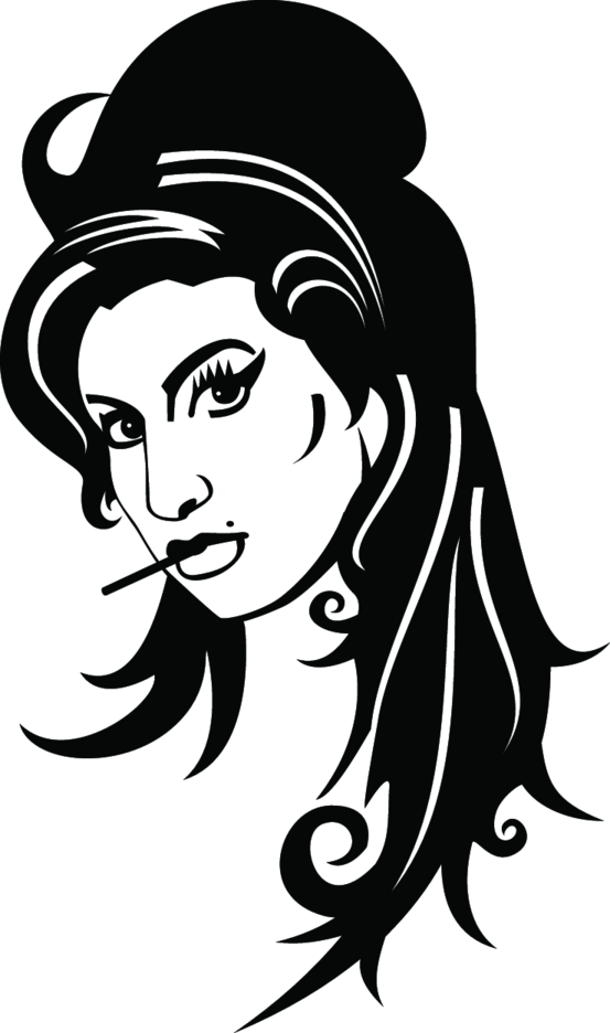 Amy Winehouse Vector Portrait