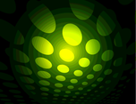 Green Dotted Vector Background VP