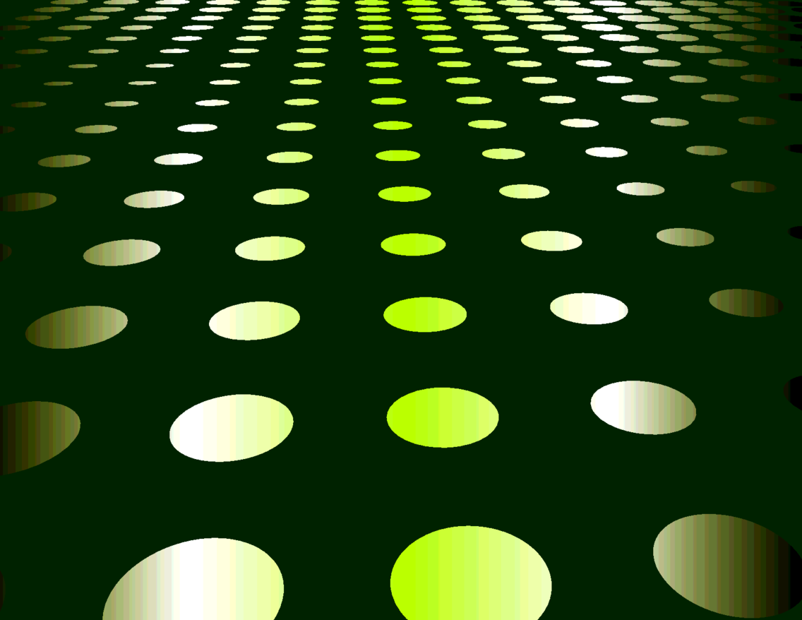 Abstract Green Dots Background VP