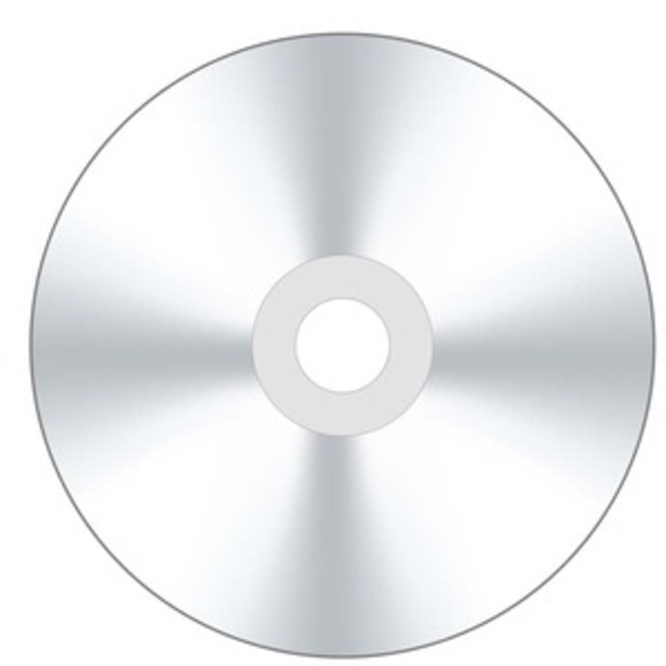 Vector CD Or DVD Disk