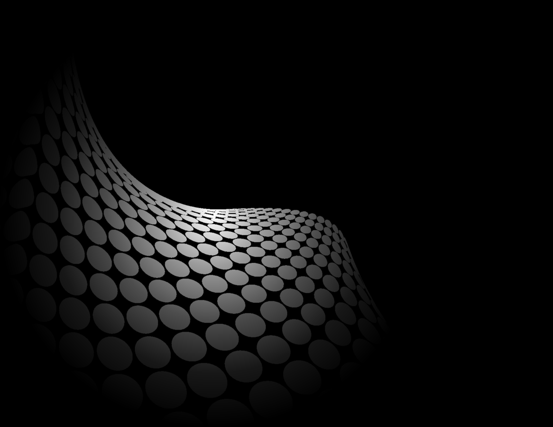 Abstract Black Background With Grey Dots