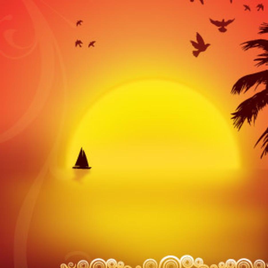 Nightfall On The Island