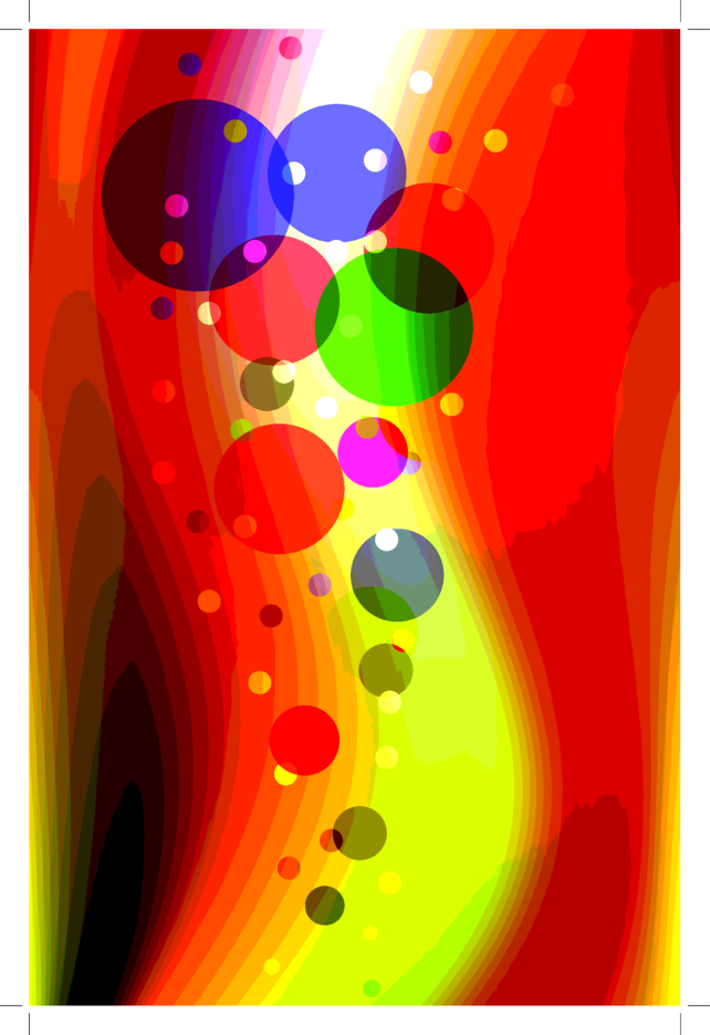 Colorful Background With Circles