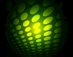Green Dotted Vector Background VP 1