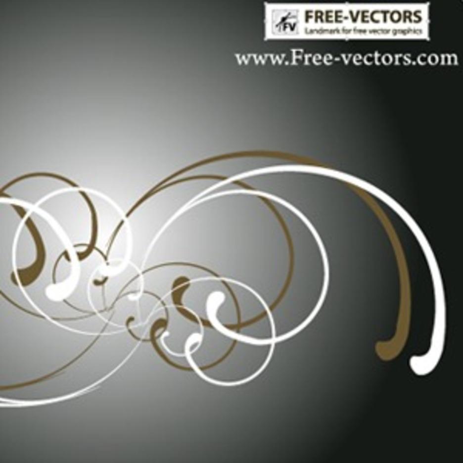 Free Ornaments Vector-3