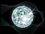 Disco Ball Vector Illustration