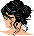 Black Hair Vector