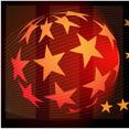 Star Globe Vector