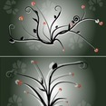 Free Flower Ornaments Vector-4