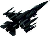 Jet Fighter Vector Image