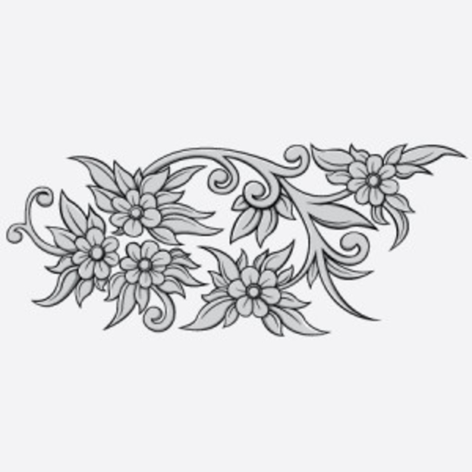 Free Floral Vector Sample