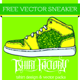 Free Vector Sneaker