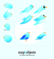 10 Vector Twitter Icons