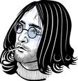 Hippie Face Vector Image