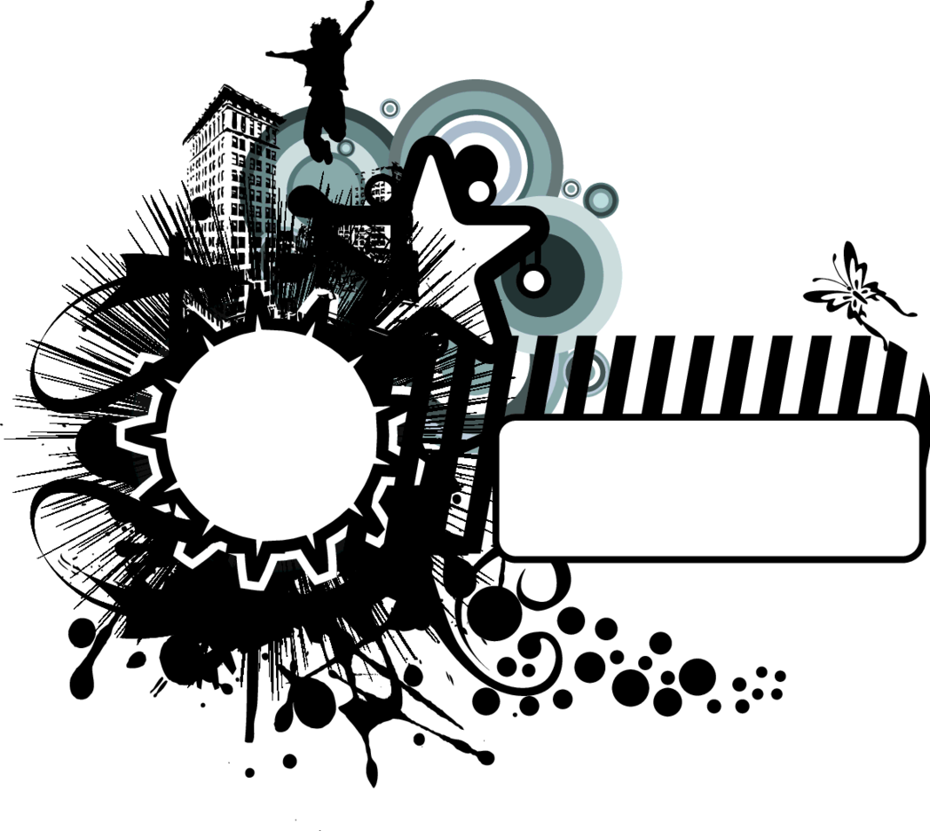 Abstract Vector BW Background