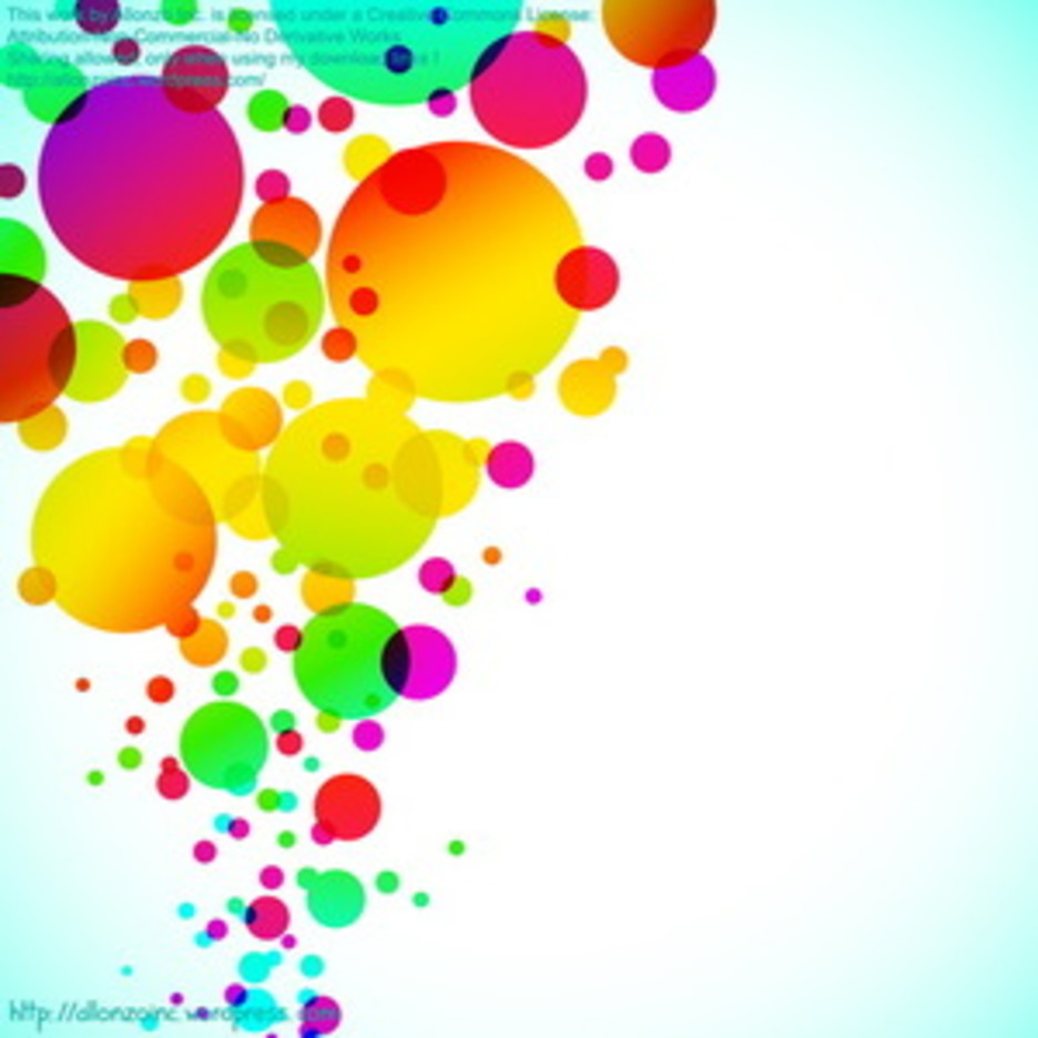 Colorful Bubbly Background