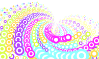 Colorful Whirlpool Vector