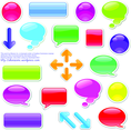 Speech Bubbles Set 3