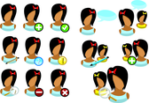 Girl User Icons