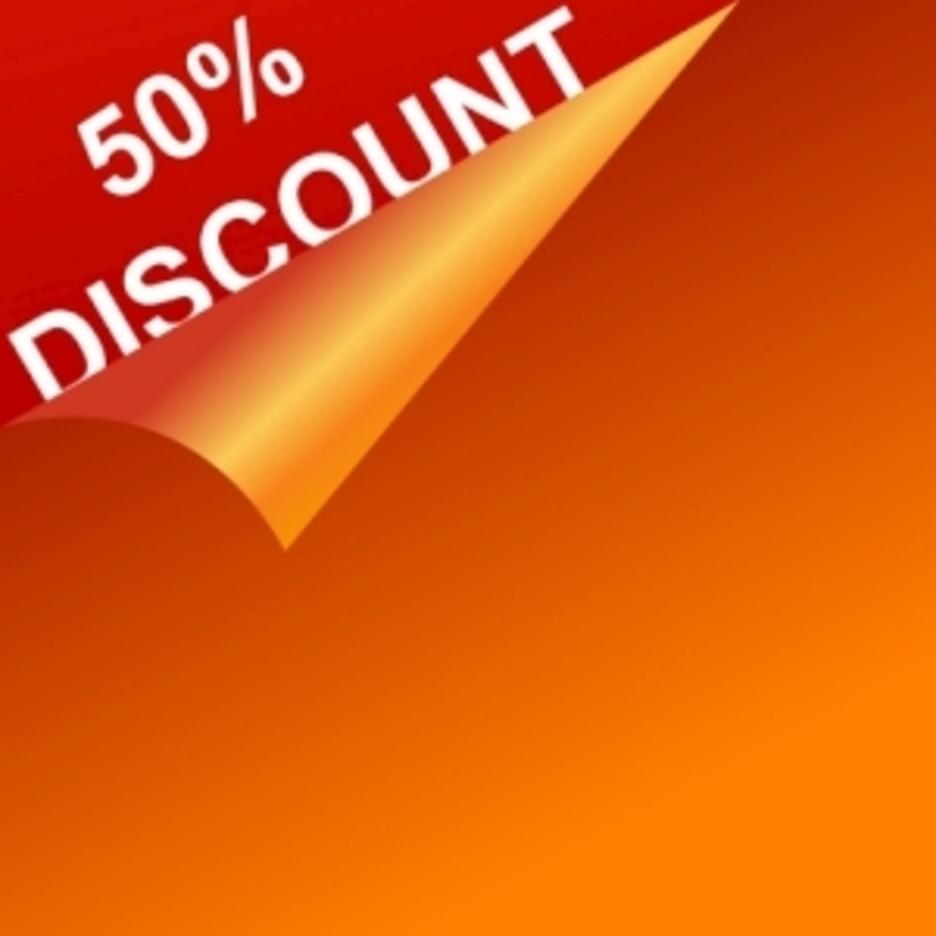 Vector Discount Template