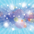 New Blue Colored Bubbles Vector Art