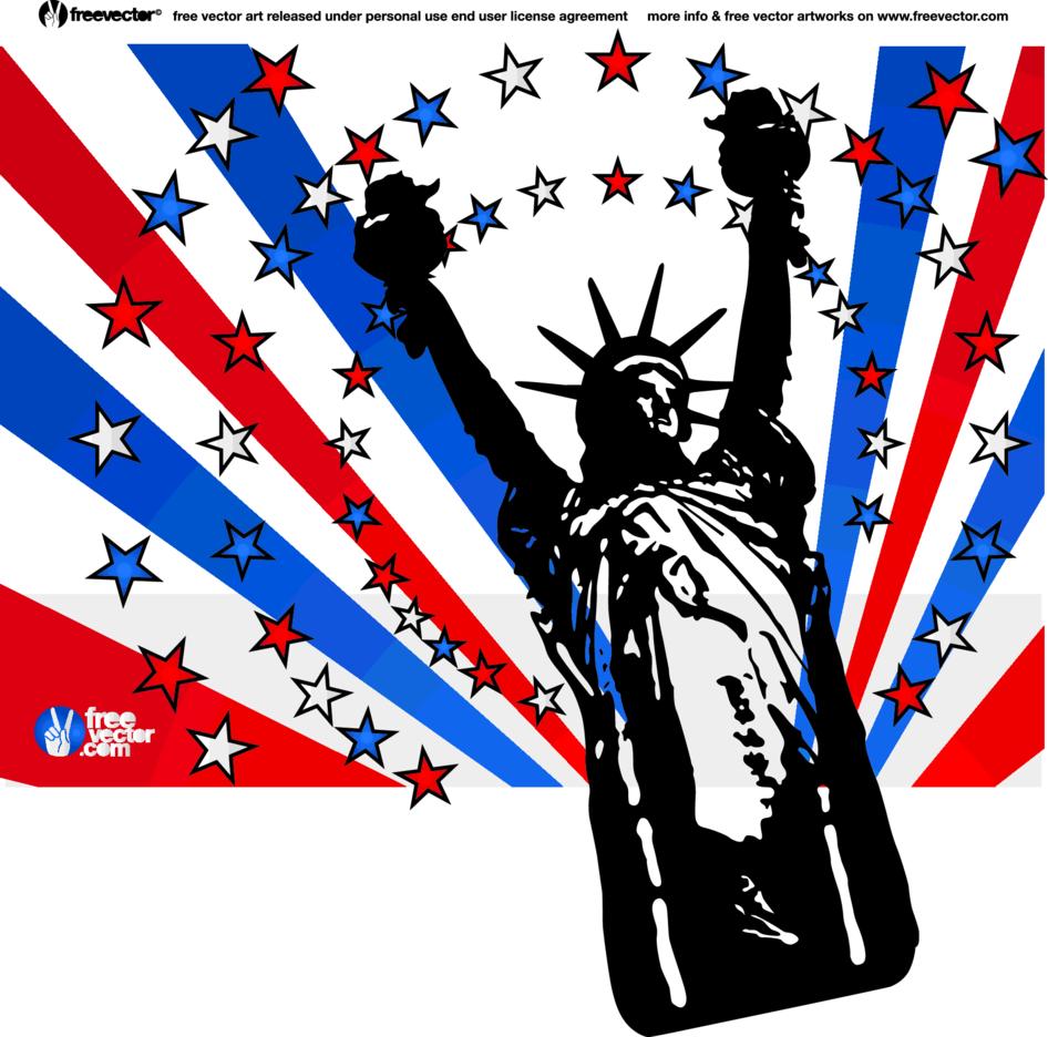 USA Liberty Vector