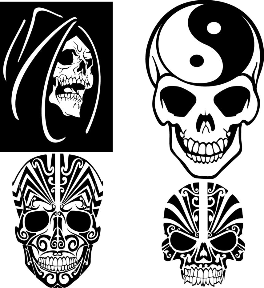 Skulls Vectors