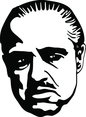 Godfather Brando Vector