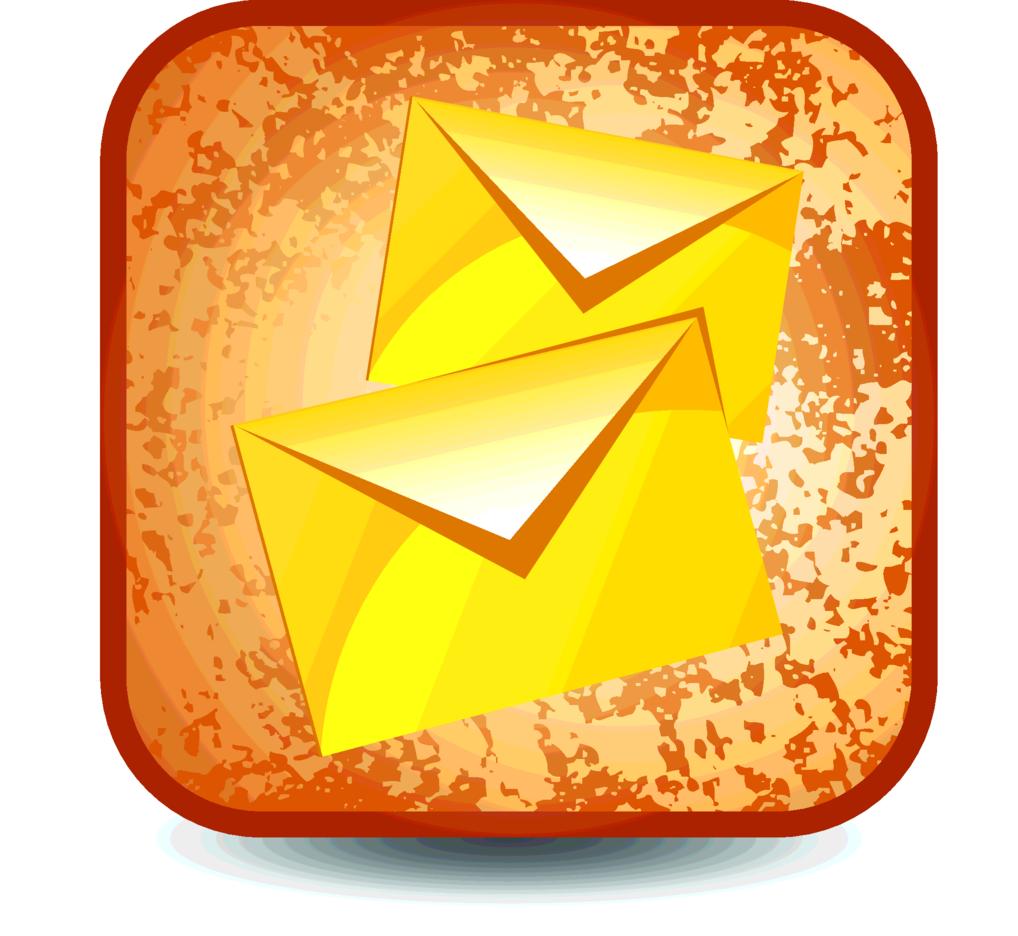 Grunge E-mail Button