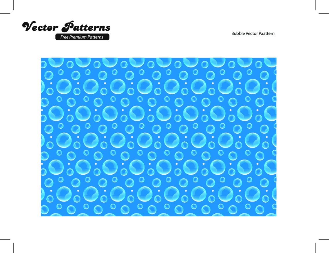 Amazing Bubble Seamless Photoshop And Illustrator Pattern