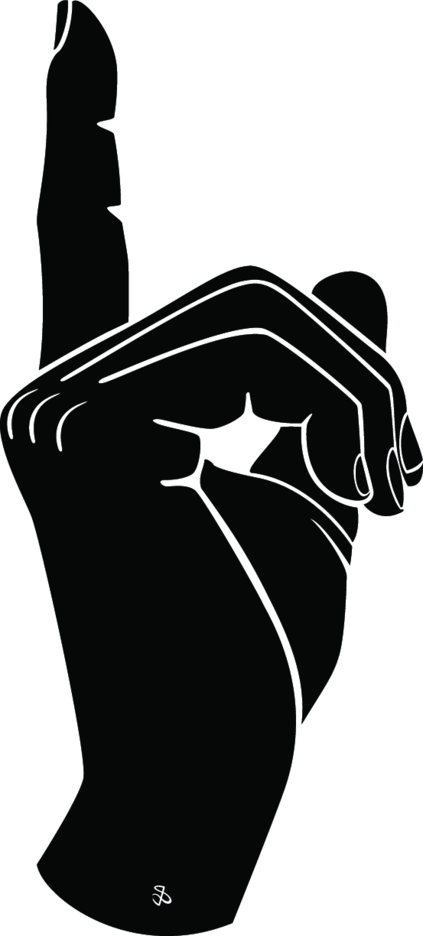 Finger Gesture Vector