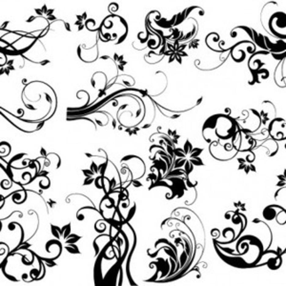 EPS & AI Floral Design Elements