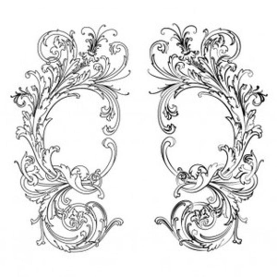 Vector Barocco Style EPS & Ai