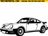 Porsche Car Vector