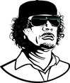 Colonel Gaddafi Portrait