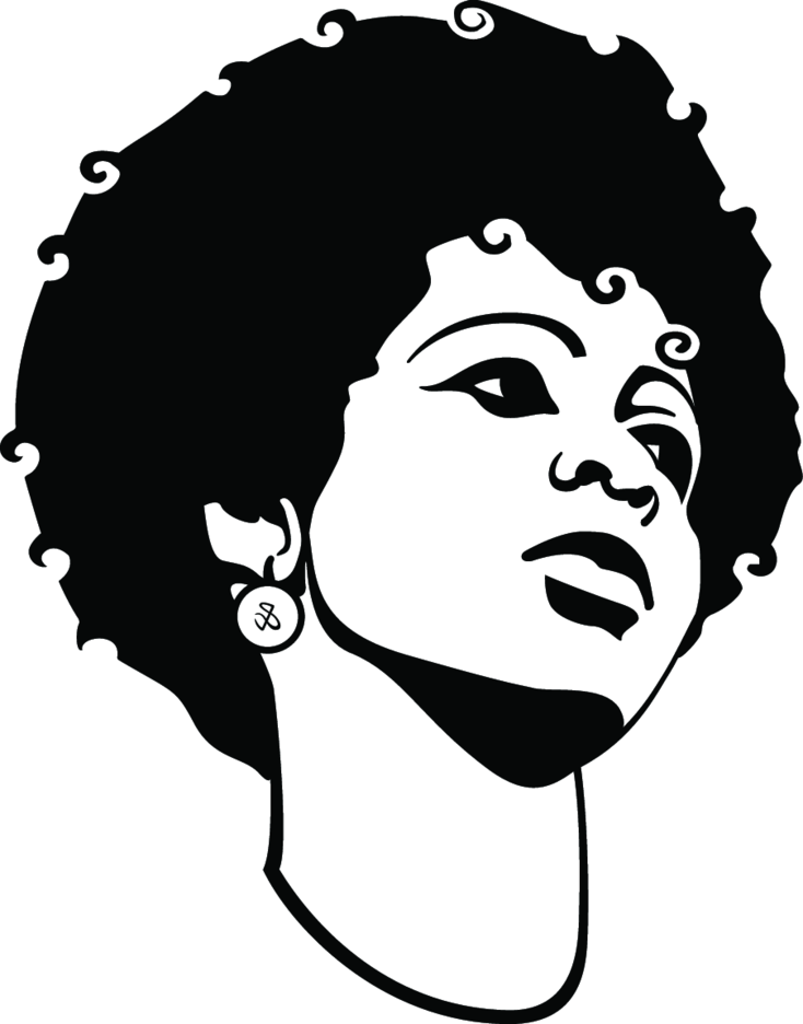 Black Girl Vector