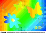 Rainbow Nature Vector Graphics